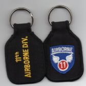 11th AIRBORNE DIVISION KEY FOB